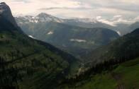 West Glacier Storm: Before/After