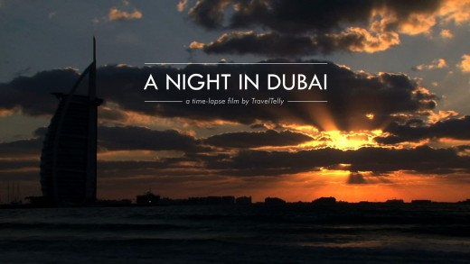 A Night in Dubai Timelapse