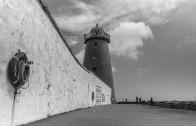 Around Dublin Bay in Black & White