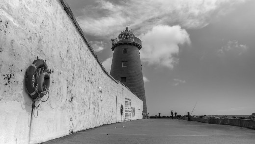 Around Dublin Bay in Black & White