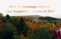 Autumn Drive at Kancamagus Highway, NH