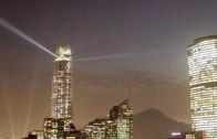 Costanera Lights in Santiago de Chile