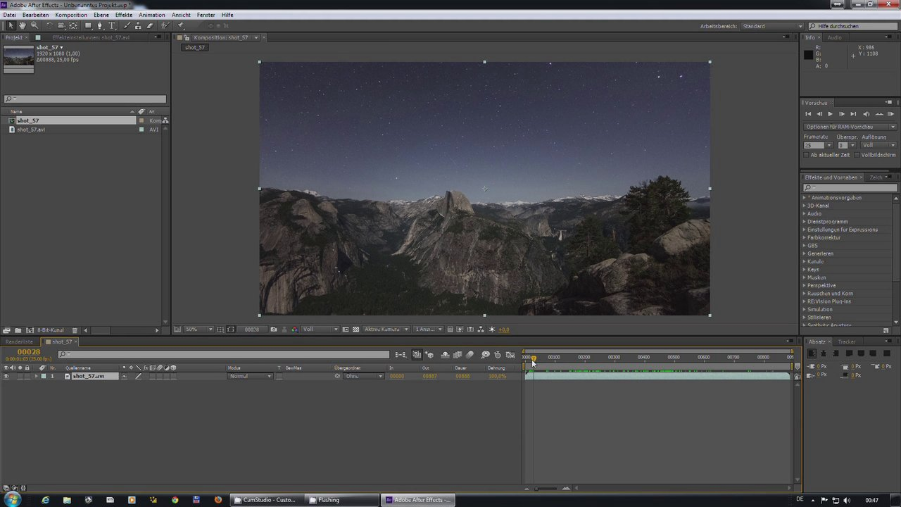 Creating Startrails in After Effects
