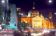 Melbourne tilt-shift (Timelapse the World)