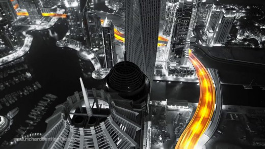 not any colour (Dubai timelapse)