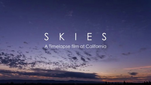 Skies – a timelapse film at California