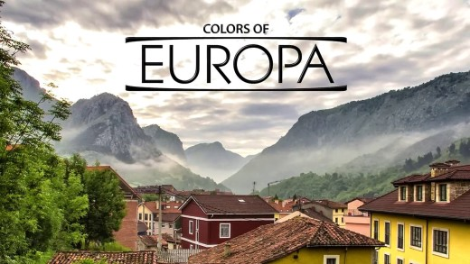 Colors of Europa