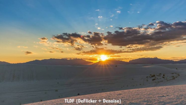 Deflicker Timelapse Software